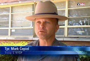 NY State Trooper Mark Cepiel