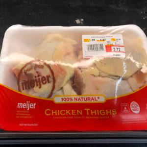 store brand chicken